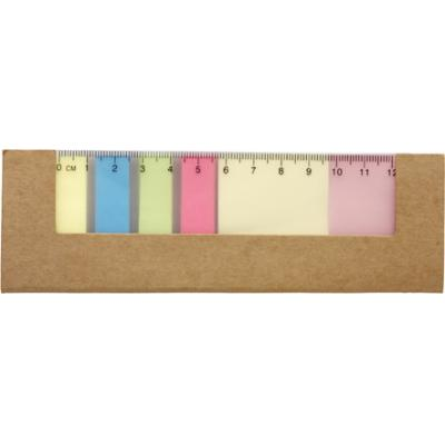 Image of Card cover with 12cm ruler