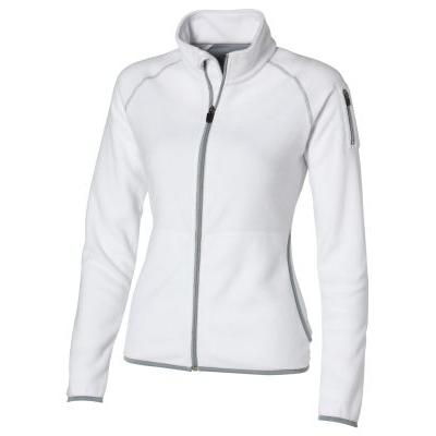 Image of Drop shot full zip micro fleece ladies jacket