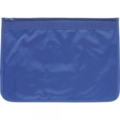 Image of Nylon Document Wallets - All Royal Blue