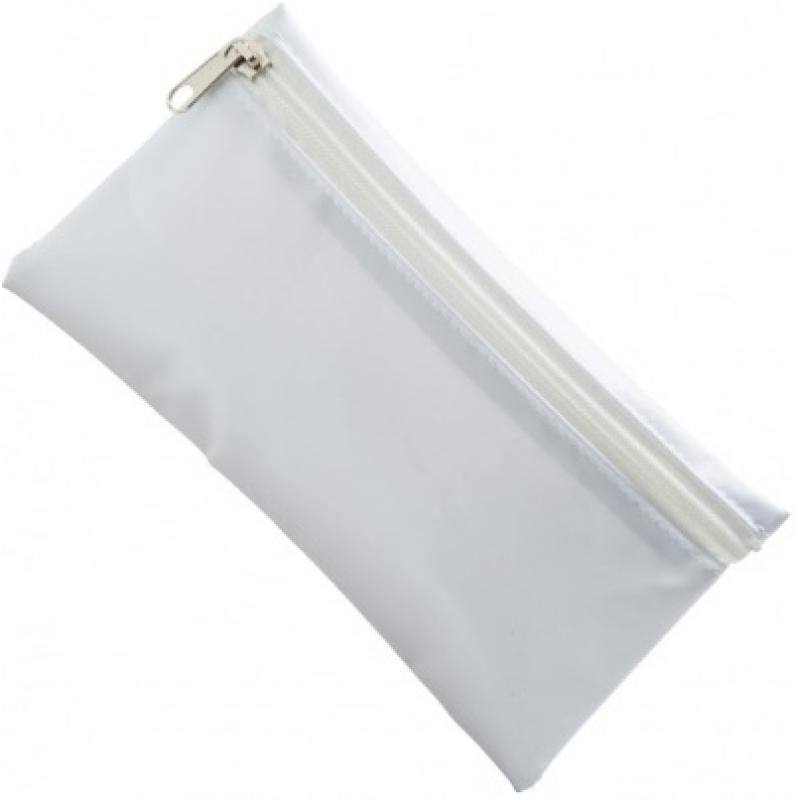 880ad3187c9656 Nylon Pencil Case - White (White Zip) :: Pencil Cases :: Beeline ...