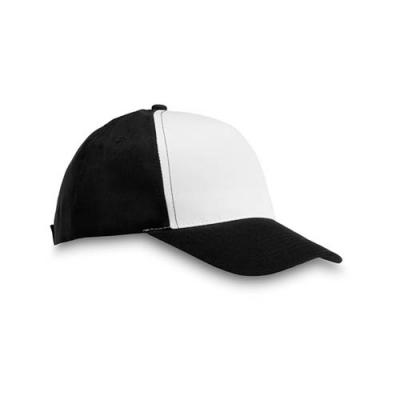 Image of Polyester 5 panel baseball cap