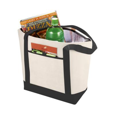 Image of Lighthouse non woven cooler tote