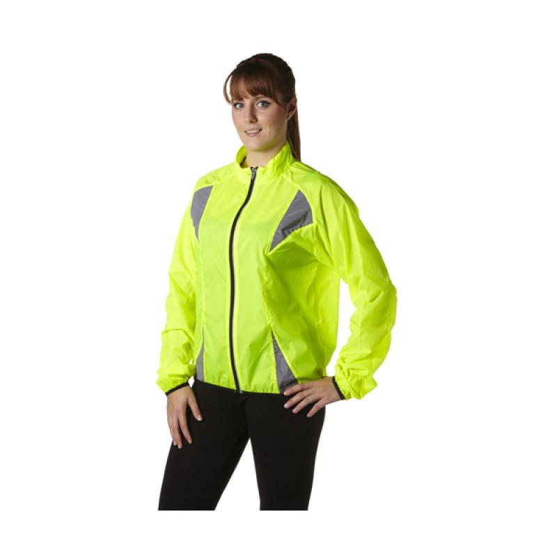 Image of Nylon (190T) fluorescent runners jacket