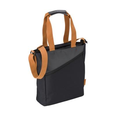 Image of Ladies shoulder bag in a polyester 600D/PVC material