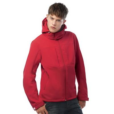 Image of B&C Men's Hooded Softshell