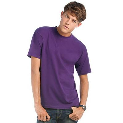 Image of B&C Men's Exact 190 Crew Neck T-Shirt