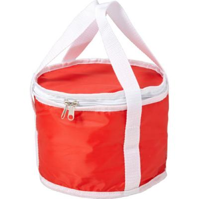 Image of Round cooler bag made from 210D polyester