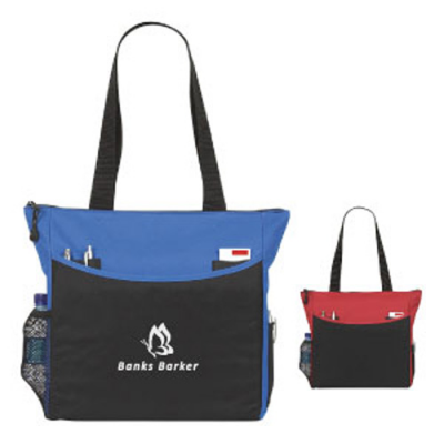 Image of Two Colour Shoulder Bag
