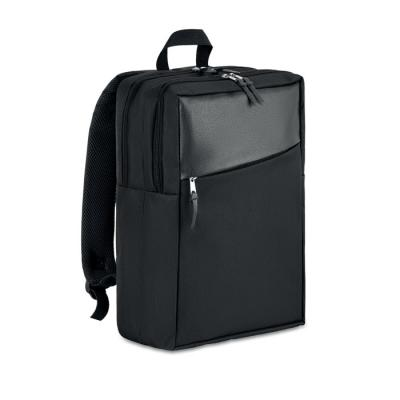 Image of 600D 2 tone computer backpack