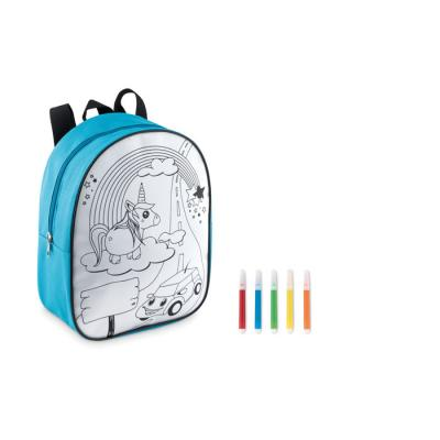 Image of Backpack with 5 markers