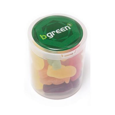 Image of Jelly Babies Loose In A Clear Tub