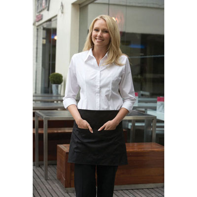 Image of Denny's Short Apron with Pocket