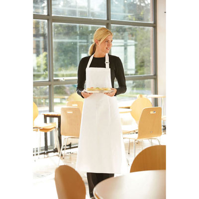 Image of Dennys Pure Cotton Bib Apron