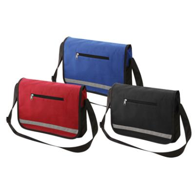 Image of Non Woven Reflective Messenger Bag