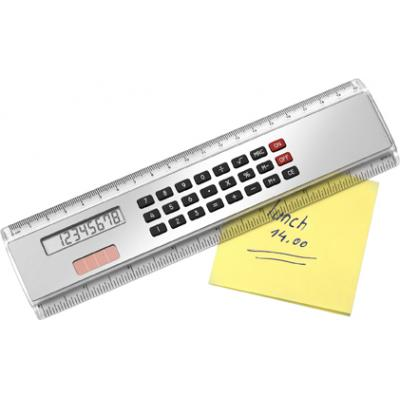 Image of ABS Ruler (20cm) with calculator