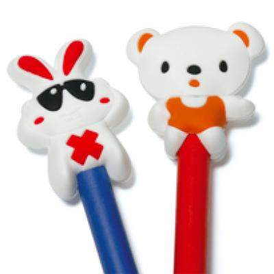 Image of Soft PVC Pencil Topper