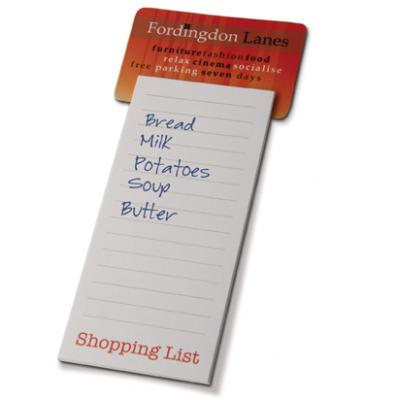 Image of Magnet with Shopping List Pad