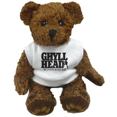"Image of 5"" Charlie Bear with White T Shirt"