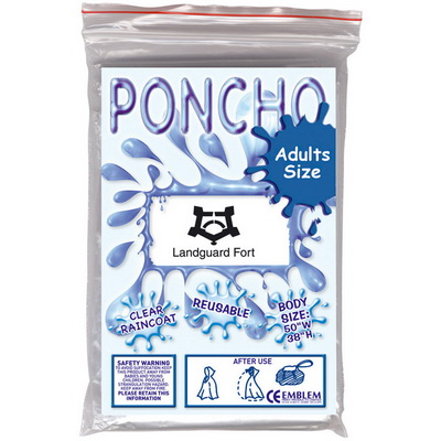 Image of Disposable Adult Poncho