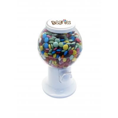 Image of 400g White Beanie Dispenser