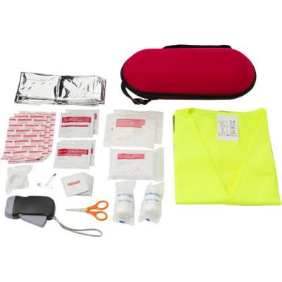 Image of Car emergency first aid kit.