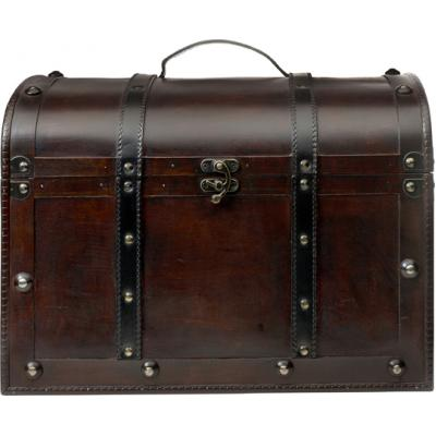 Image of Large wooden chest.