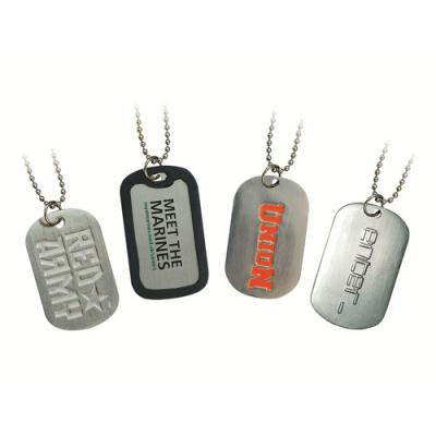 Image of Embossed Dog Tags