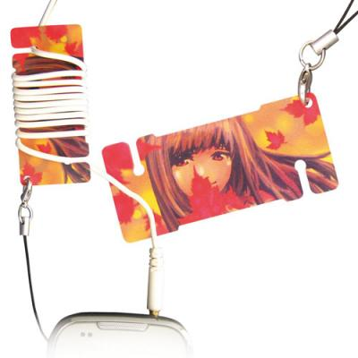 Image of Mini Plastic Earphone Winder Card