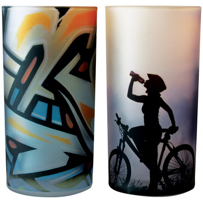 Image of Photo Highball Glass 12oz