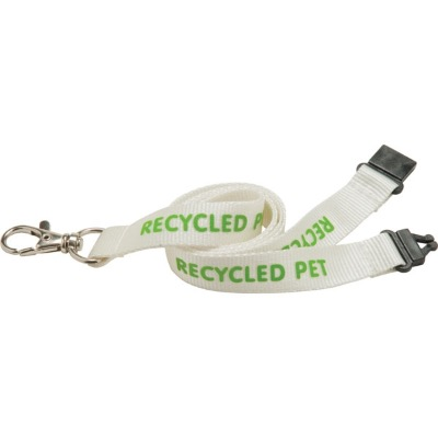 Image of 15mm PET Lanyard - Natural col