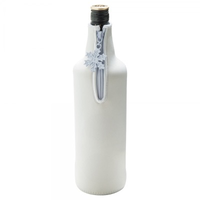 Image of Neoprene Zipped Bottle Holder for Spirits or Champagne
