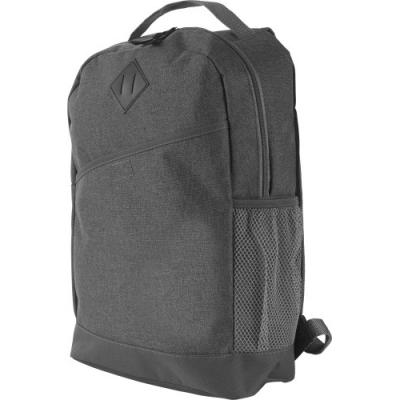 Image of Poly canvas (600D) backpack