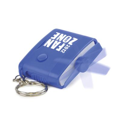 Image of Plastic Rectangular Fan Keyring