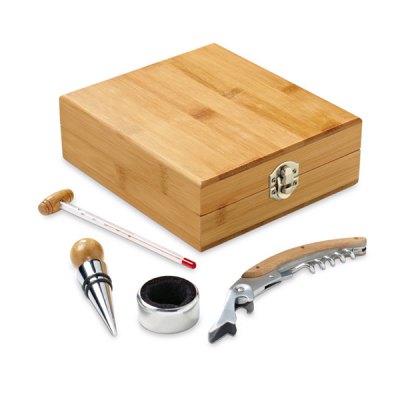Image of Bamboo Wine Set