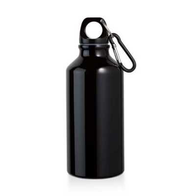 Image of Aluminium Sports Bottle With Carabiner