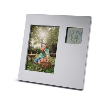 Image of Photo Frame With Digital Desk Set