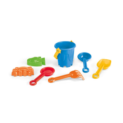 Image of Beach Bucket With 6 Accessories