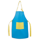 Image of Apron For Children With Pocket