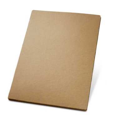Image of Cardboard A4 Folder With Notepad