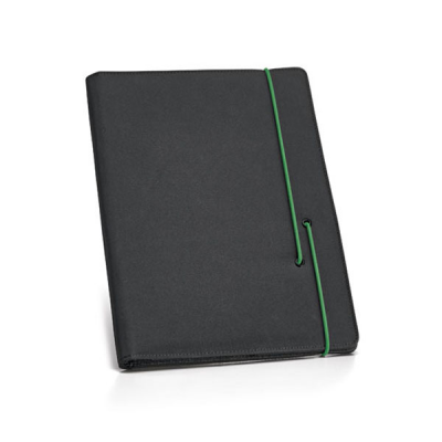 Image of A4 Microfibre Folder With Lined Notepad