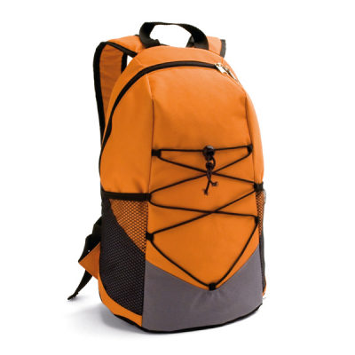 Image of Backpack With Inner And Outer Pockets