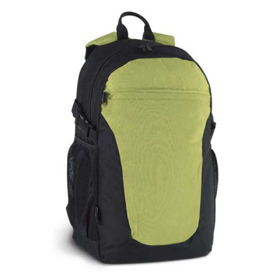 Image of Backpack With Outer And Inner Pockets