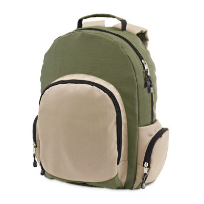 Image of Backpack With Front And Side Pockets