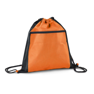 Image of Non Woven Drawstring Bag With Front Pocket