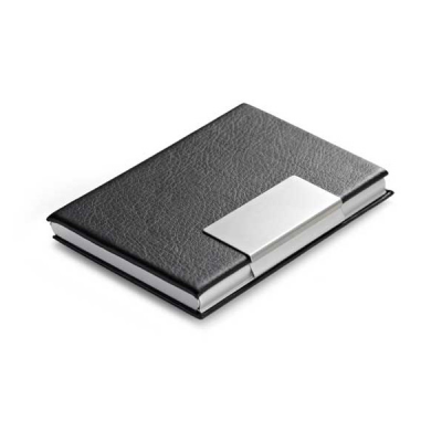 Image of Imitaion Leather and Alluminium Cardholder