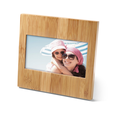 Image of Bamboo Photo Holder