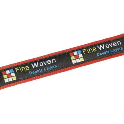 Image of 15mm Fine Embroidered & Satin Lanyard