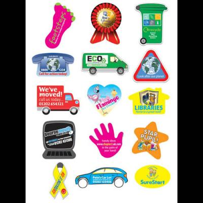 Image of Rectangular Sticker: 37 x 51mm 25 per sheet
