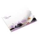 Image of BIC® 101 mm x 75 mm Alternating Imprint 25 Sheet Adhesive Notepad