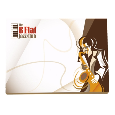 Image of BIC® 101 mm x 75 mm 100 Sheet Adhesive Notepads